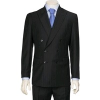 Mens Double Breasted Suit