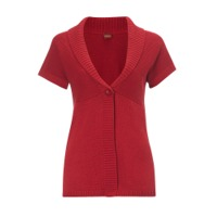 Short Sleeve Cardigan Jumper