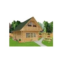 large log cabins